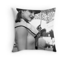 One Day In Berlin Throw Pillow