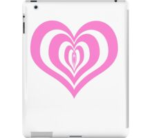 Heart's Bullseye! iPad Case/Skin