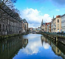Canal in Gent, Belgium by AdventureSetter