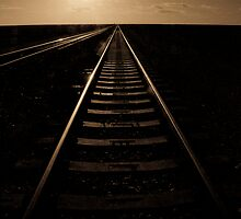 Indian-Pacific Rail - Cook, South Australia by Stephen Permezel