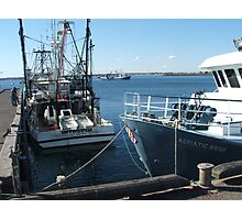 Prawnboats Wallaroo, South Australia. Photographic Print