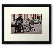 What difference? Framed Print