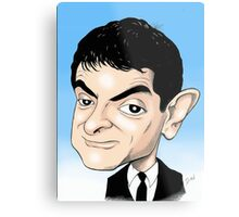MR BEAN  Metal Print