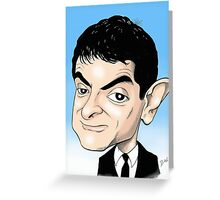 MR BEAN  Greeting Card