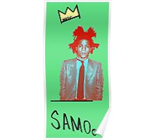 samo - green back Poster