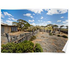 Koonalda Sheep Yard - Nullarbor Plain, South Australia Poster