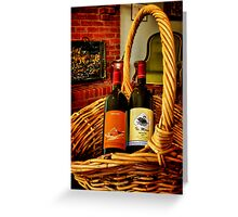 """""""Fruit of the Vine"""" Greeting Card"""