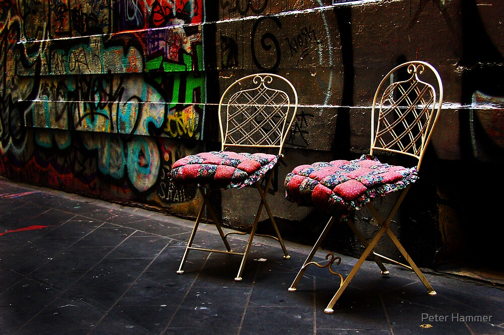 Chairs by Peter Hammer