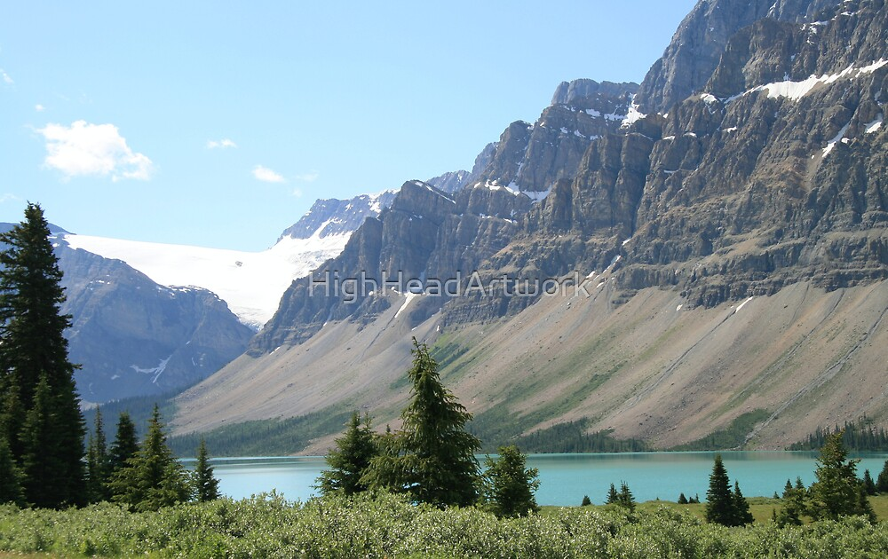 The Rockies Alberta Canada by HighHeadArtwork