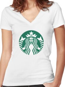 Don't Drink Women's Fitted V-Neck T-Shirt