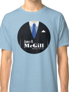 Better Call Saul - James M. McGill Suit Classic T-Shirt