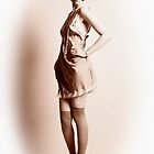 Vintage Pinup Girl by melmoth