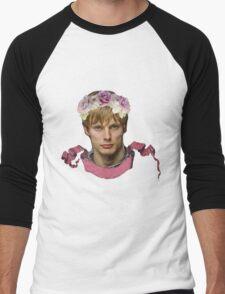 Arthur Pendragon Floral  Men's Baseball ¾ T-Shirt