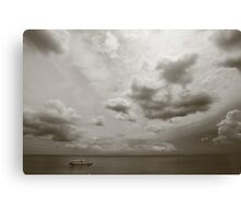 Bali beach Canvas Print