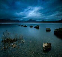 Loch Lomond Twilight by Angie Latham