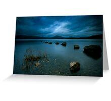 Loch Lomond Twilight Greeting Card