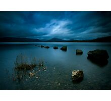 Loch Lomond Twilight Photographic Print