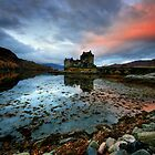 Eilean Donan Sunrise by Angie Latham