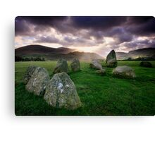 Ancient Stones : Castlerigg Canvas Print