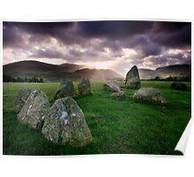 Ancient Stones : Castlerigg Poster