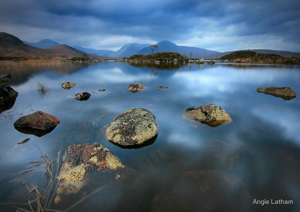 Rannoch Moor Calm by Angie Latham