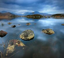 Rannoch Moor Calm by Angie Latham