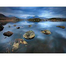 Rannoch Moor Calm Photographic Print