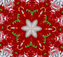 Holiday Mandala 2 by Gretchen  Mueller Steele