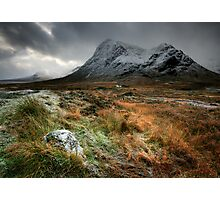 The house under the mountain Photographic Print