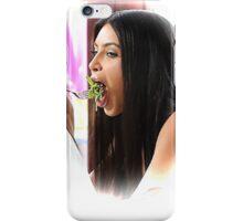 Kim Eating Salad iPhone Case/Skin