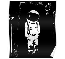 little astronaut Poster