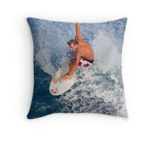 Hawaiian Board Shorts Throw Pillow