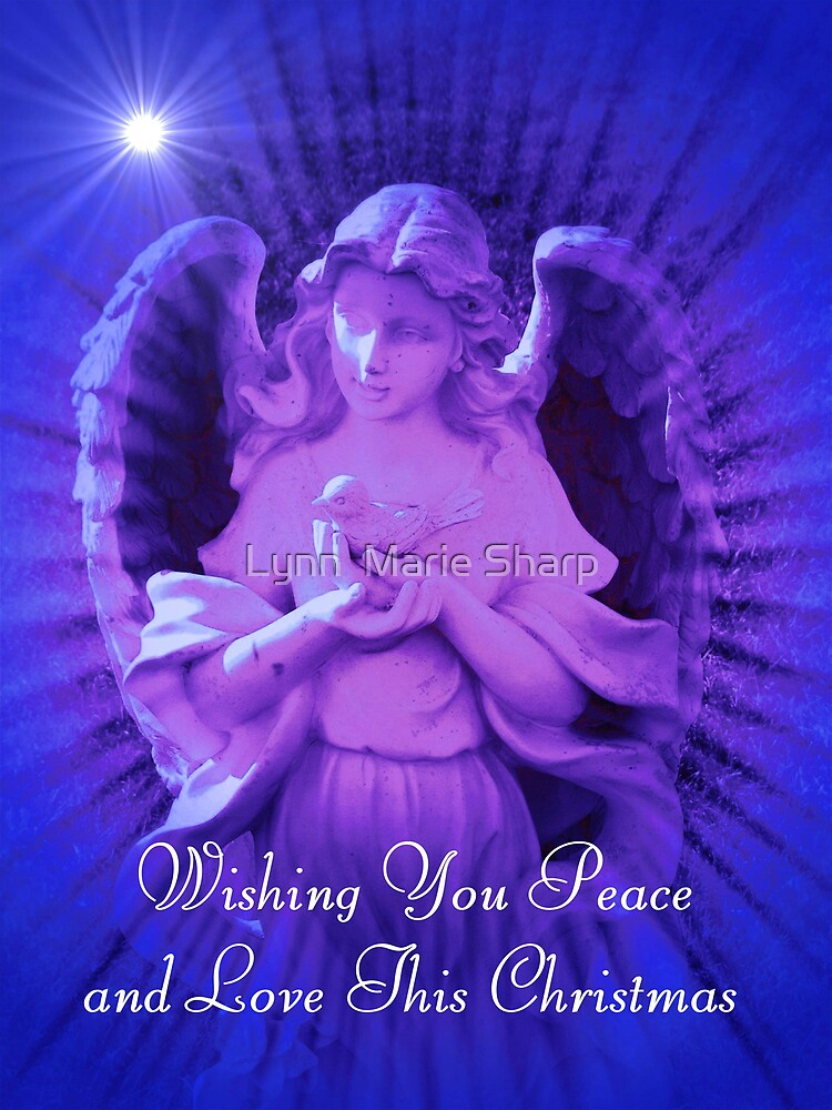 Peace and Love by Marie Sharp