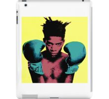 basquiat andy warhol style iPad Case/Skin