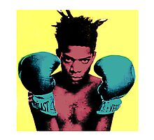 basquiat andy warhol style Photographic Print