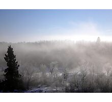 ice fog Photographic Print