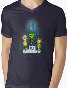 Link's Purest Blue Stuff Mens V-Neck T-Shirt