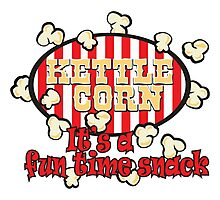 Kettle Corn! It's a fun time snack! Photographic Print