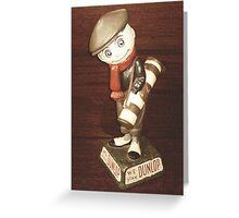 The Dunlop Man Greeting Card