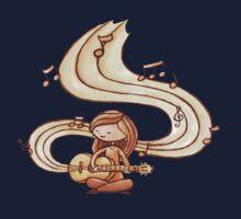 Music is Life Shirt Kids Tee