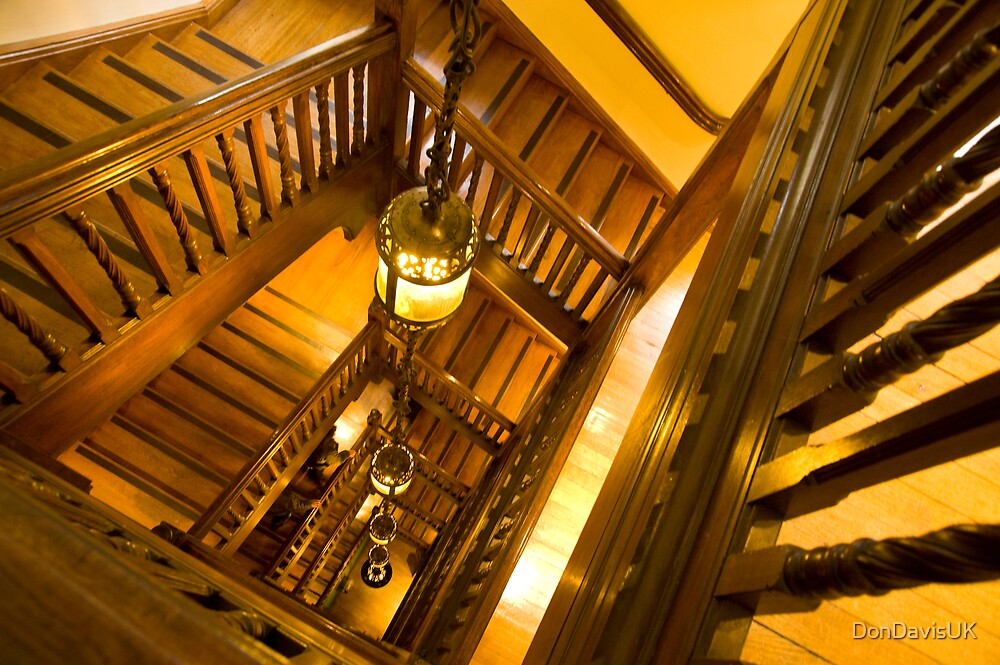 Liberty's Stairwell by DonDavisUK
