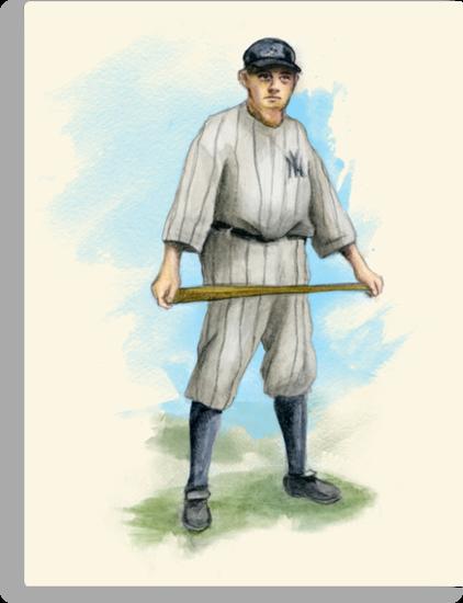 Babe Ruth by John Rodriguez