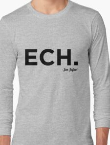 ECH Black Long Sleeve T-Shirt