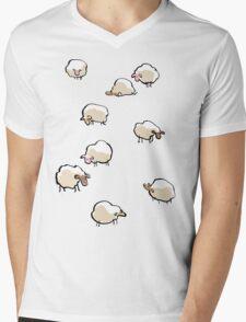 sheep Mens V-Neck T-Shirt