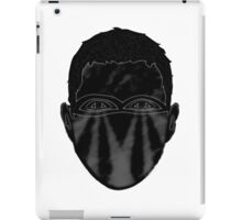 Abstract face design iPad Case/Skin