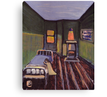 My own room in the childrens home Canvas Print
