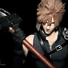Cloud Strife figure by NaniNaniX