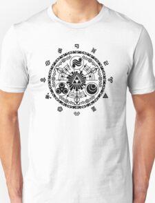 Gate of Time - Black T-Shirt