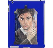 """Number 10"" - Tardis shirt iPad Case/Skin"