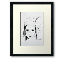 sketch 1 Framed Print